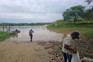 Desborde de río Tumbes inunda unas 1,500 hectáreas agrícolas
