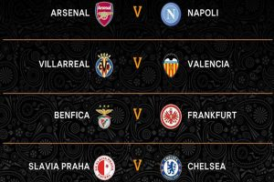 UEFA Europa League 2019: Sorteo de los cuartos de final