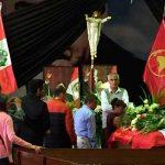 Alan García: miles de seguidores, políticos y autoridades despiden al expresidente