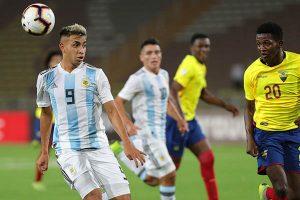 Argentina fue goleado por Ecuador (4-1) y elimina a Perú