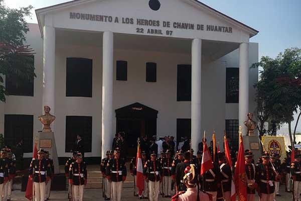 Chorrillos: Fuerzas Armadas celebra los 22 años de la operación Chavín de Huántar