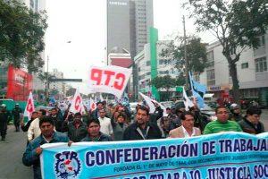 CTP alista marcha contra el gobierno