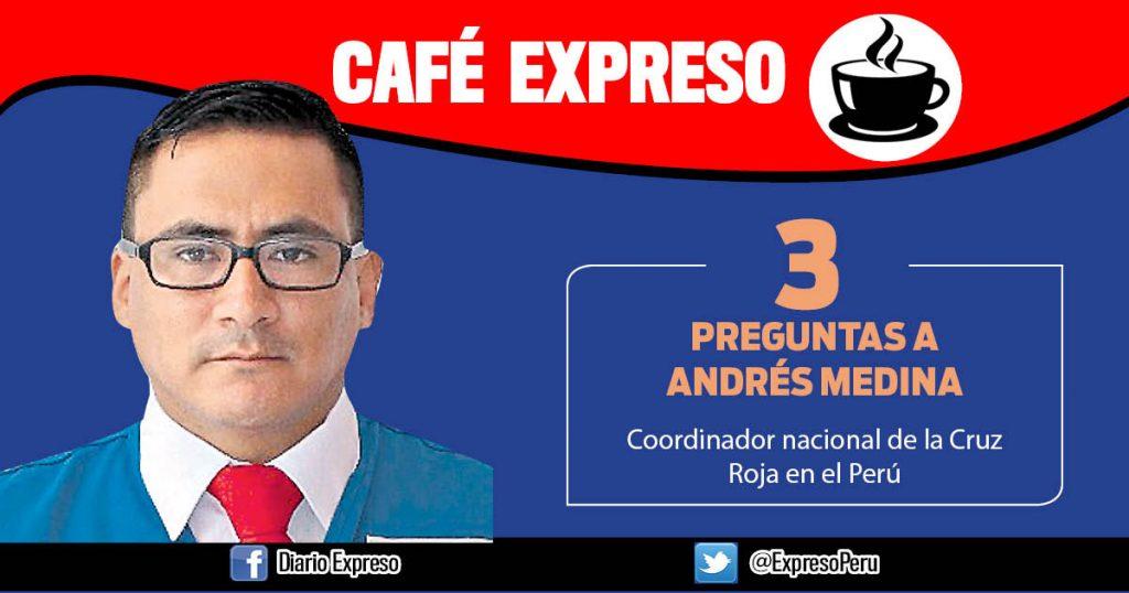 """Andrés Medina: """"Hemos fortalecido la prevención en  zonas alejadas"""""""