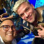 Robert Armas presente en Los Billboard Latino