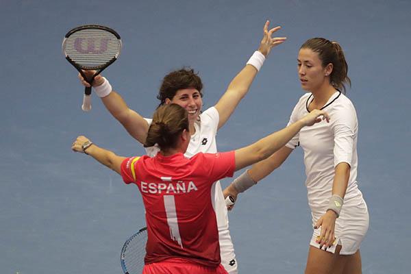 Tenis: España vuelve a la élite del tenis mundial