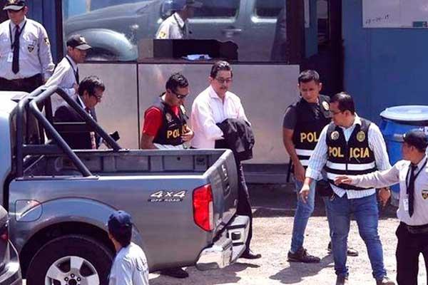Cornejo, Atala y Menacho ya cumplen detención preliminar