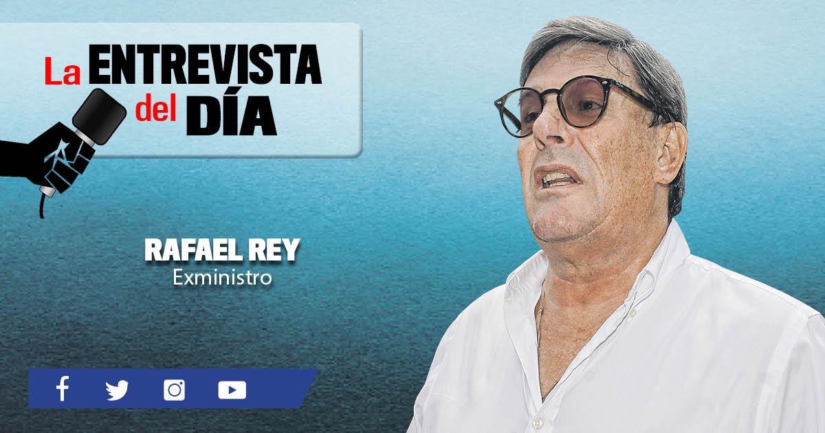 """Rafael Rey: """"Nadie cree en la presunción de inocencia"""""""