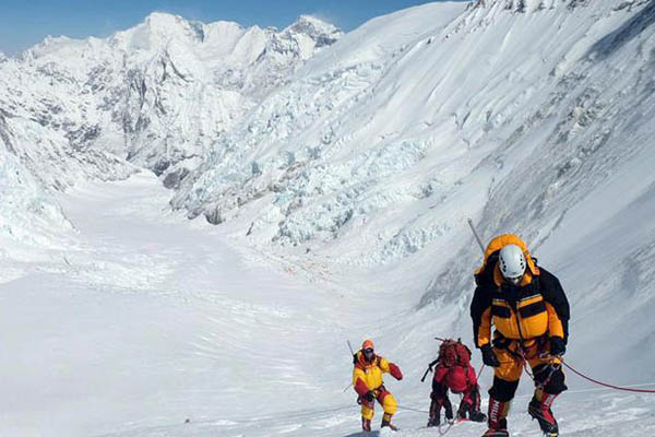Nepal registra récord para subir el Everest