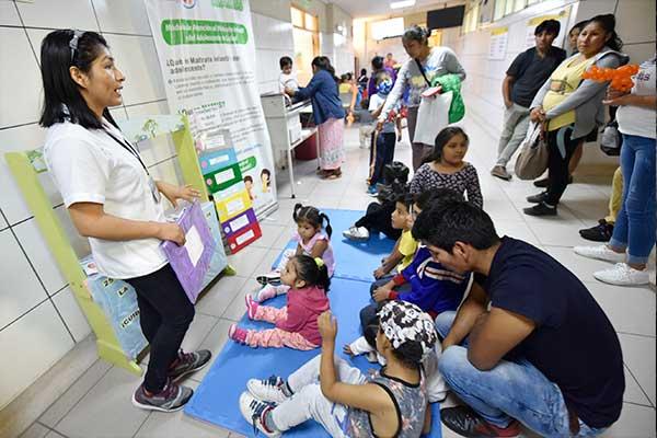 INSN San Borja atienden a niños que sufrieron maltrato infantil