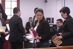 TC debate hoy hábeas corpus que busca la libertad de Keiko Fujimori