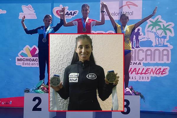 Kimberly García clasifica a los Juegos Olímpicos