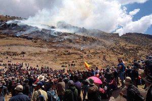 Martín Vizcarra se esconde ante el conflicto en Las Bambas