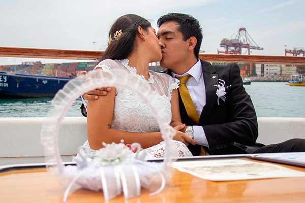 Matrimonio comunitario: parejas podrán disfrutar de tour en yate por las costas del Callao