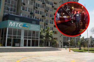 SMP: MTC gestiona la suspensión de la empresa de bus incendiado