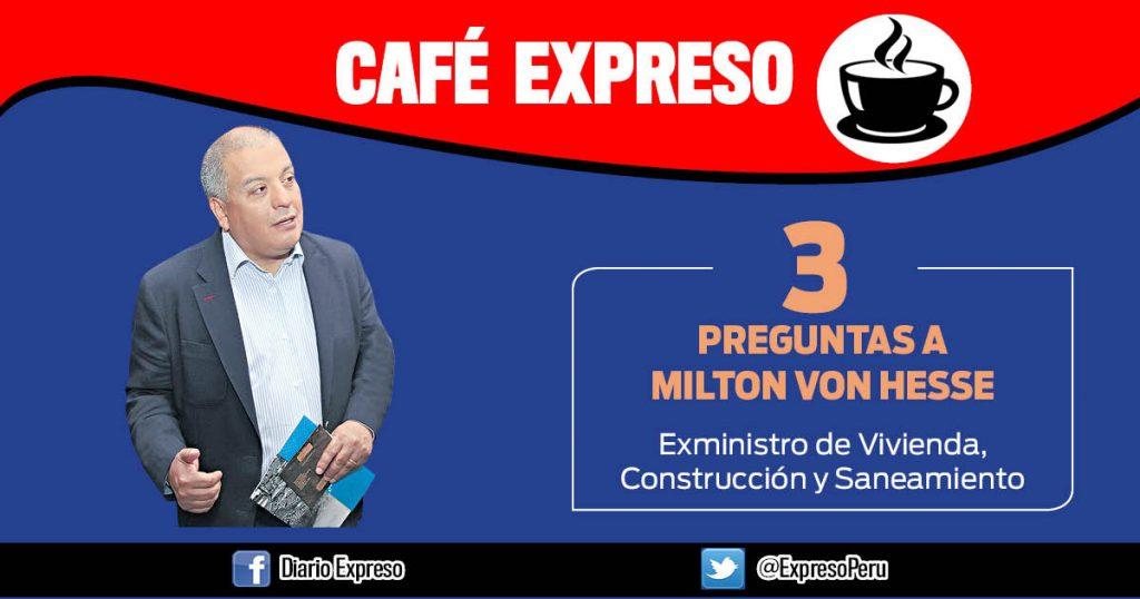 """Milton Von Hesse: """"Aniego en SJL puede volver a ocurrir"""""""