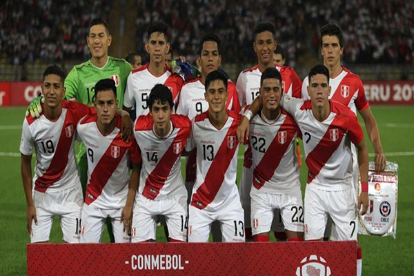 Sudamericano Sub 17: Perú vs. Paraguay (0-2)
