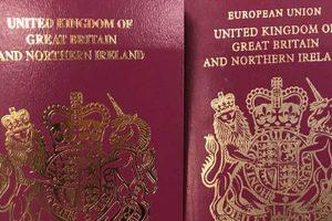 "Reino Unido elimina las palabras ""Unión Europea"" de sus pasaportes"