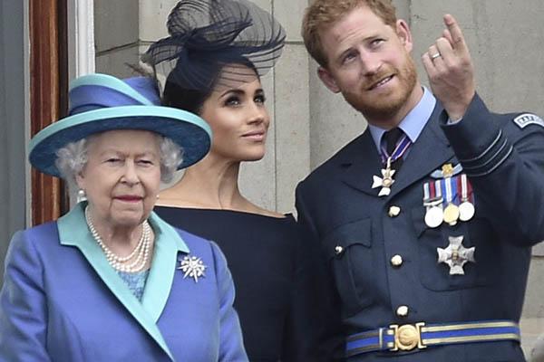 Megan Markle desaira  a la reina Isabel II