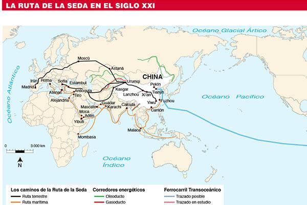 China avanza en la Ruta de la Seda
