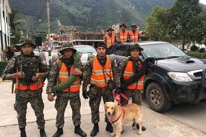 Soldados se suman a búsqueda de docente desaparecida en Pozuzo