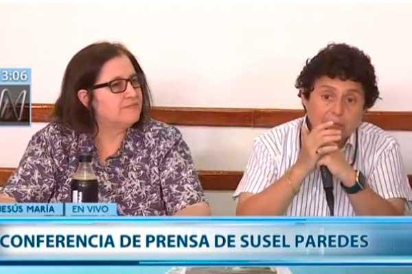 Susel Paredes y Gracia Aljovín: «Si perdemos el proceso iremos a la Corte IDH»