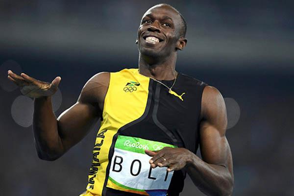 ¡Usain Bolt es una leyenda!