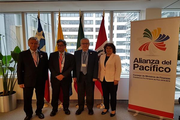 Fijan agenda de trabajo en la Alianza del Pacífico