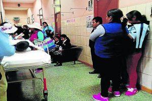 Arequipa: Escolares en el hospital tras consumir desayuno de Qali Warma