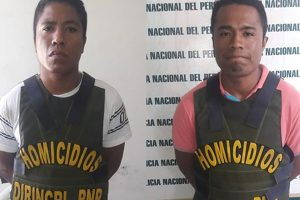 Capturan a hermanos feminicidas en Chincha