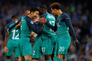 UEFA Champions League 2019: Manchester City vs. Tottenham Hotspur (4-3)