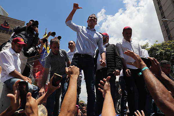Guaidóarranca 'fase definitiva» para sacar a Nicolás Maduro