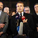 Presidente de Francia promete reconstruir Notre Dame