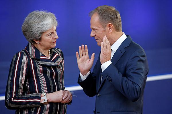 May pide a la UE otra prórroga del «brexit»