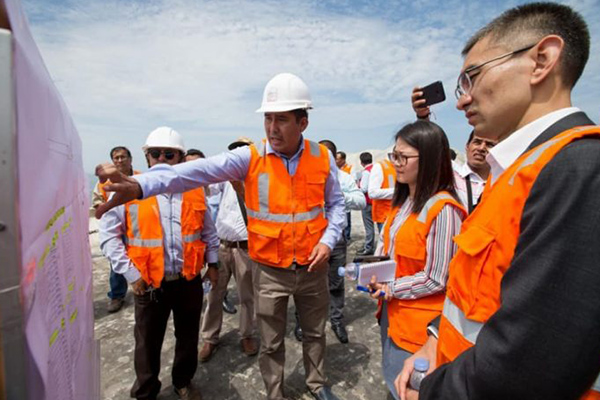 Transnacional china invertiría US$ 2,000 millones en Chimbote