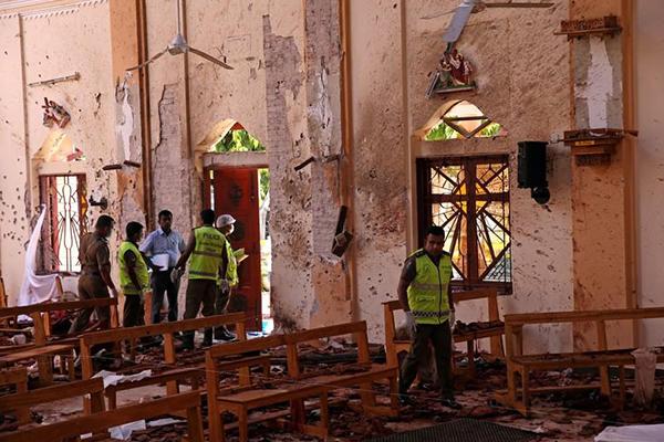 Sri Lanka culpa a red internacional por ataques