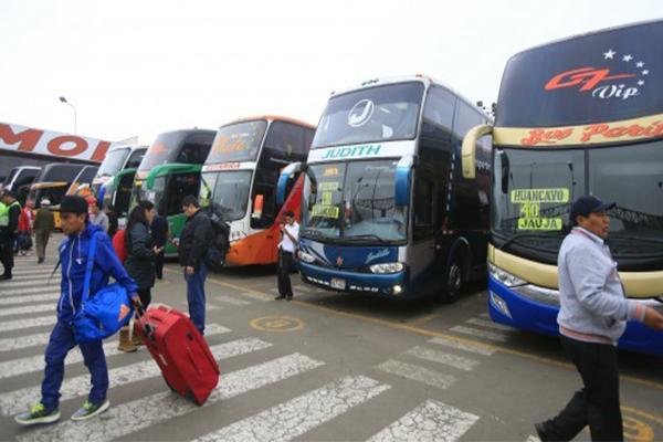 Ministerio de Transportes revocó 98 habilitaciones técnicas en terminales terrestres