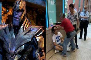 Golpean a sujeto que contó el final de Avenger End Game en la fila del cine