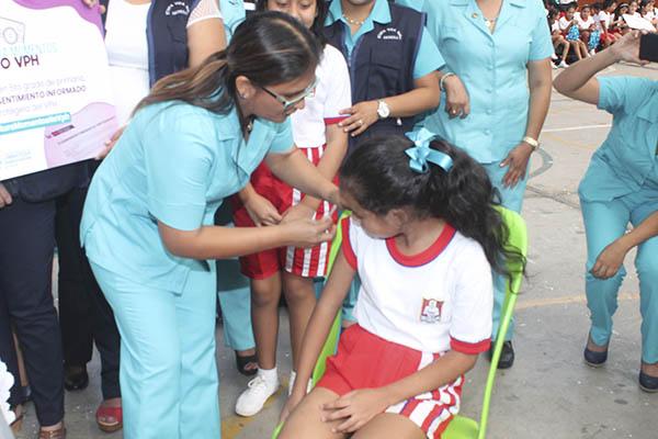 Lanzan campaña de vacunación contra Virus del Papiloma Humano