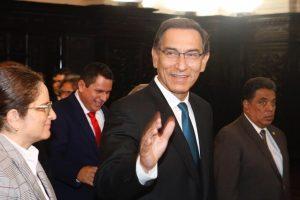 Ipsos Perú: Aprobación de Martín Vizcarra sube a 58 % a una semana de las elecciones