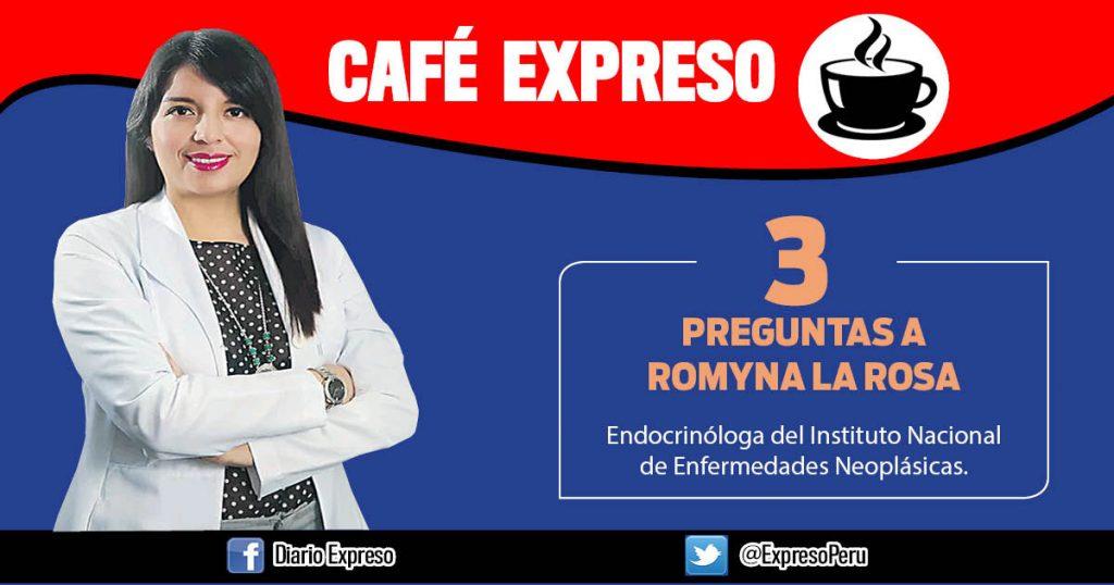 """Romyna La Rosa: """"Alteración de latiroides afecta al10 % de adultos"""""""