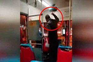 Corredor Azul: Pasajero golpea a conductor [VÍDEO]