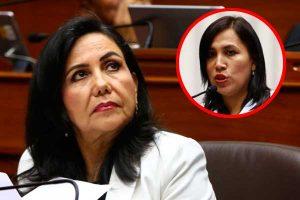 Gloria Montenegro: Interpelación a ministra Flor Pablo no es oportuna