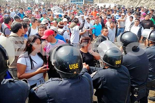 Huachipa: Vecinos marchan hacia Sedapal para exigir obras de agua potable [VIDEO]