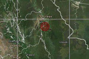 ¡Otra vez la selva! Sismo de magnitud 4.6 se registró en Pucallpa