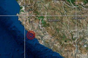 Ica: Sismos de magnitudes 5.0, 4.7 y 4.9 se reportaron en Marcona, según IGP