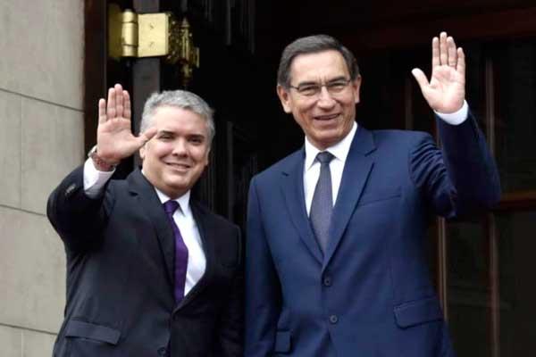 Puntos centrales de la declaración suscrita entre Martín Vizcarra e Iván Duque
