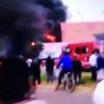 Voraz incendio se registra en grifo de San Martín de Porres