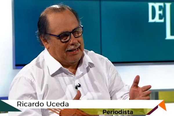 Ricardo Uceda: Ávalos omitió el delito de colusión agravada en investigación a Vizcarra por caso Richard Swing