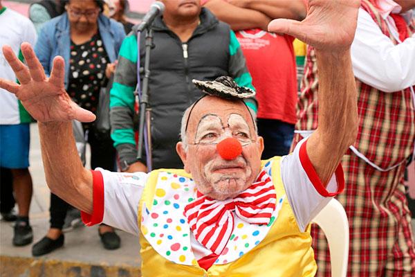 Callao: Con pasacalle y show artístico celebran el «Día del Payaso Peruano»