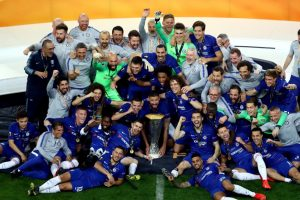 "¡Chelsea Campeón! El equipo ""blues"" goleó 4-1 al Arsenal por la final de la UEFA Europa League"